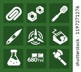 tool filled set of vector icons ...   Shutterstock .eps vector #1197271276