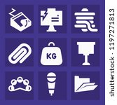 tool filled set of vector icons ...   Shutterstock .eps vector #1197271813