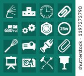 tool filled set of vector icons ...   Shutterstock .eps vector #1197273790