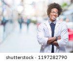 afro american doctor scientist... | Shutterstock . vector #1197282790