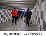 moscow  russia   october  6 ... | Shutterstock . vector #1197290986