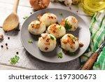 meat stuffed potato dumplings... | Shutterstock . vector #1197300673