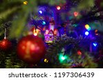 decorated christmas tree...   Shutterstock . vector #1197306439