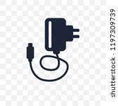 charger transparent icon.... | Shutterstock .eps vector #1197309739