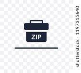 zip code transparent icon. zip... | Shutterstock .eps vector #1197315640