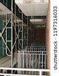 construction catwalk for...   Shutterstock . vector #1197316033