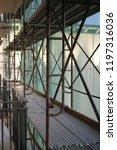 construction catwalk for...   Shutterstock . vector #1197316036