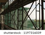 construction catwalk for...   Shutterstock . vector #1197316039