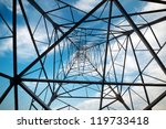 power tower in the sky... | Shutterstock . vector #119733418