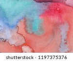 abstract watercolor background. ... | Shutterstock . vector #1197375376