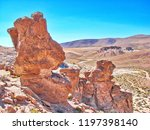 bolivia  salar de uyuni  rock...   Shutterstock . vector #1197398140