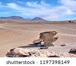 bolivia  salar de uyuni  arbol...   Shutterstock . vector #1197398149
