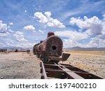 bolivia  salar de uyuni  famous ...   Shutterstock . vector #1197400210