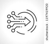 technological assistance ... | Shutterstock .eps vector #1197419920