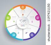 infographics design vector and... | Shutterstock .eps vector #1197421150