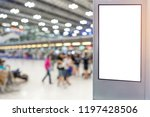 light box mock up unit for... | Shutterstock . vector #1197428506