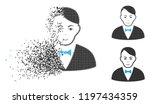 dealer icon with face in... | Shutterstock .eps vector #1197434359