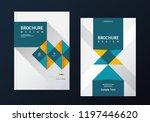 book cover design. annual...   Shutterstock .eps vector #1197446620