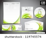 professional corporate identity ... | Shutterstock .eps vector #119745574