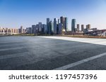 panoramic skyline and modern... | Shutterstock . vector #1197457396
