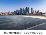 panoramic skyline and modern... | Shutterstock . vector #1197457396