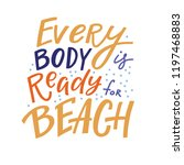 positive inspirational quote  ... | Shutterstock .eps vector #1197468883