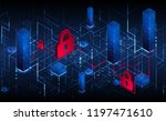 protection mechanism  system... | Shutterstock .eps vector #1197471610