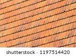 rooftiles on a dutch house  ... | Shutterstock . vector #1197514420