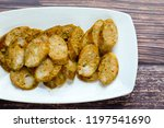 thai spicy sausages  made from... | Shutterstock . vector #1197541690