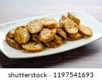 thai spicy sausages  made from... | Shutterstock . vector #1197541693