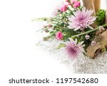 art of inserting flowers | Shutterstock . vector #1197542680