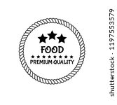 food vintage premium quality   Shutterstock .eps vector #1197553579