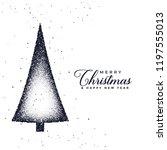 creative christmas tree design... | Shutterstock .eps vector #1197555013