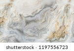 white marble pattern with curly ... | Shutterstock . vector #1197556723