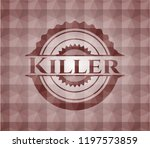 killer red geometric pattern... | Shutterstock .eps vector #1197573859