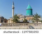 a view of the mevlana tomb and... | Shutterstock . vector #1197581053
