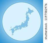 map of japan   Shutterstock .eps vector #1197582976