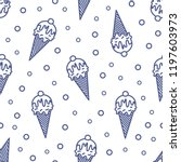 modern seamless pattern with... | Shutterstock .eps vector #1197603973