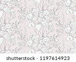 vector delicate subtle... | Shutterstock .eps vector #1197614923