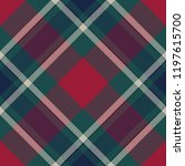tartan plaid fabric texture... | Shutterstock . vector #1197615700