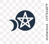 ritual vector icon isolated on... | Shutterstock .eps vector #1197616879
