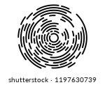 abstract geometric vortex ... | Shutterstock .eps vector #1197630739