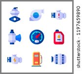 fuel icons set. complexity ... | Shutterstock .eps vector #1197659890