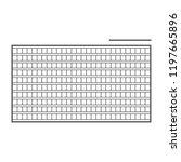 squared manuscript. eps10   Shutterstock .eps vector #1197665896