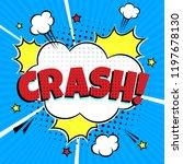 comic lettering speech bubble... | Shutterstock .eps vector #1197678130