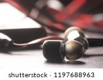 earphone  music  earphone with... | Shutterstock . vector #1197688963