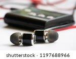 earphone  music  earphone with... | Shutterstock . vector #1197688966