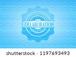 collaboration water wave... | Shutterstock .eps vector #1197693493