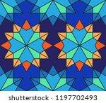 geometric seamless pattern.... | Shutterstock .eps vector #1197702493