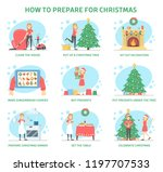 how to prepare home for... | Shutterstock .eps vector #1197707533